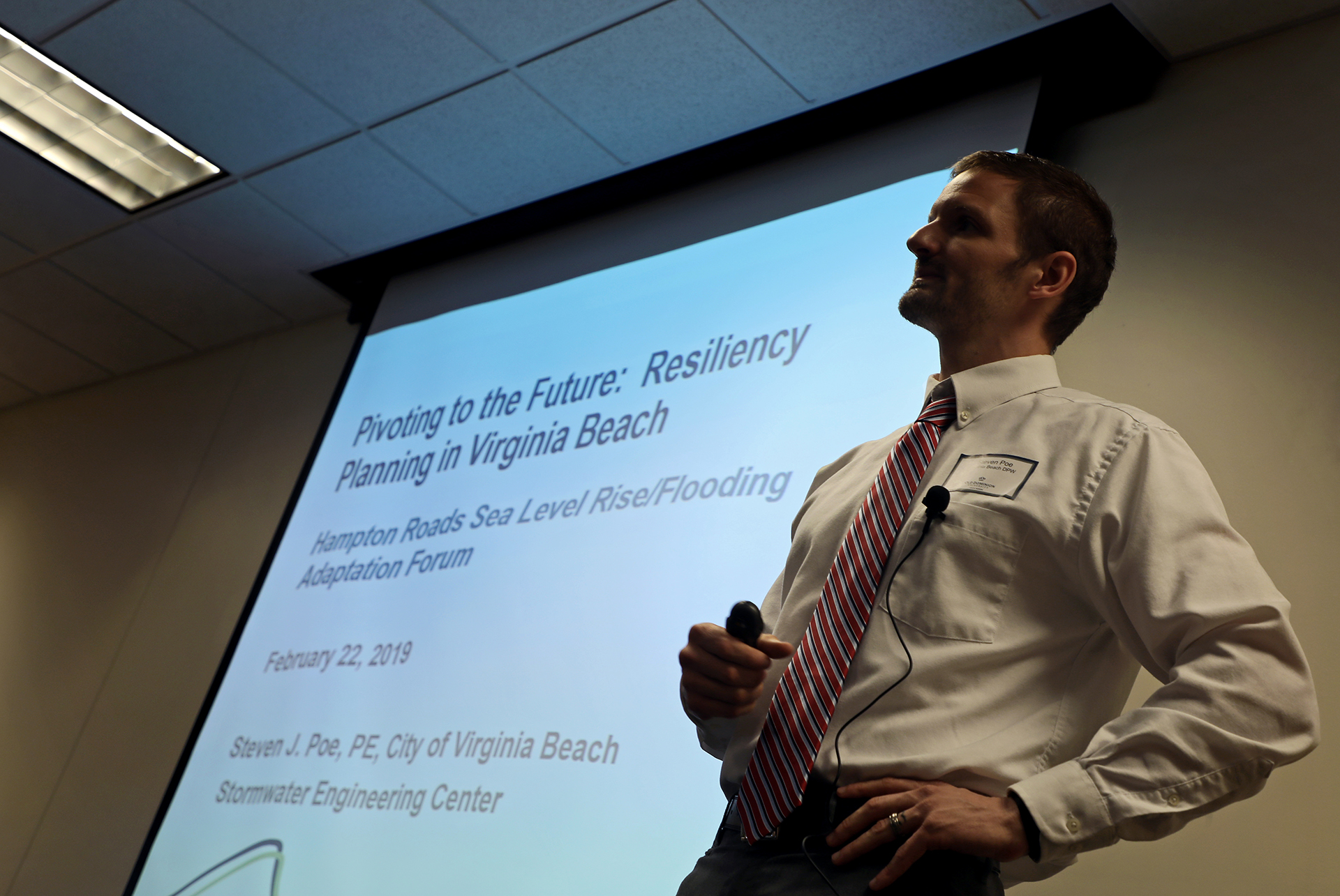 Designing for resilience' forum draws record crowd