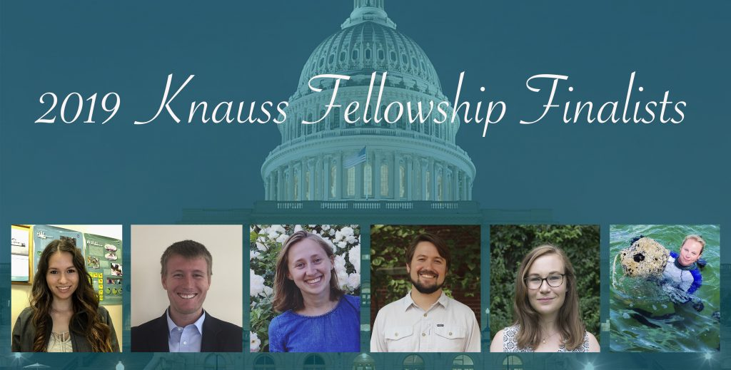 2019 Knauss Fellowship Finalists Announced - Virginia Sea Grant